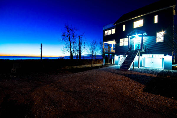 Desirable Spaces: Shady Side contemporary with panoramic bay view