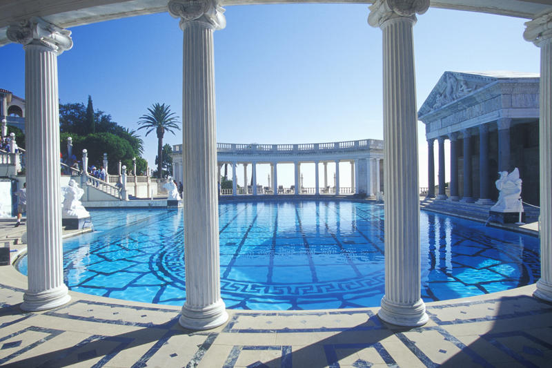 Neptune Pool, Hearst Castle (Visions of America / Universal Images Group)