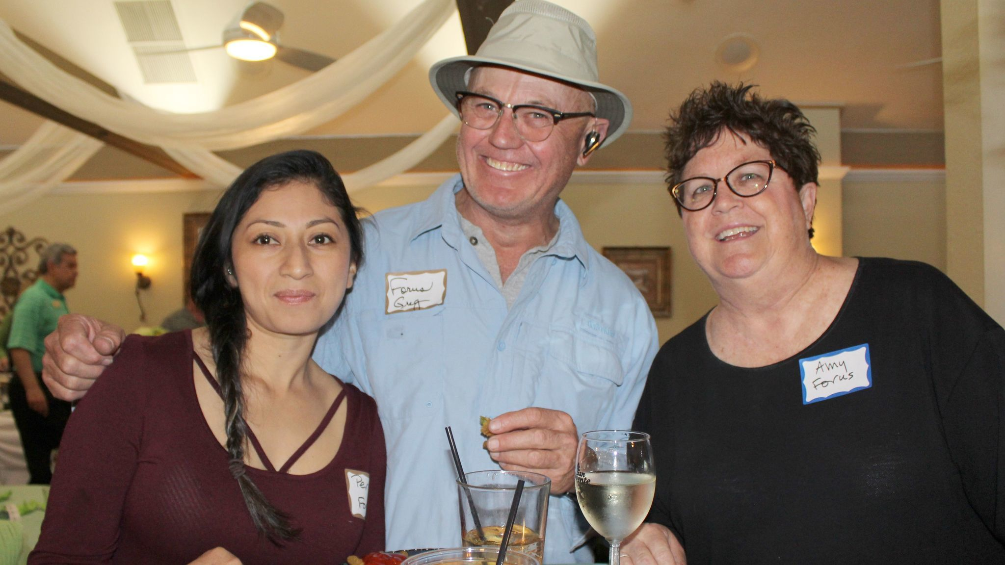 Friends of Ramona Unified Schools (FORUS) directors Perla Martinez, Greg Chick, and Amy Barraclough.
