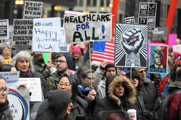 Illinois health care advocates cheer GOP bill's demise, worry about future