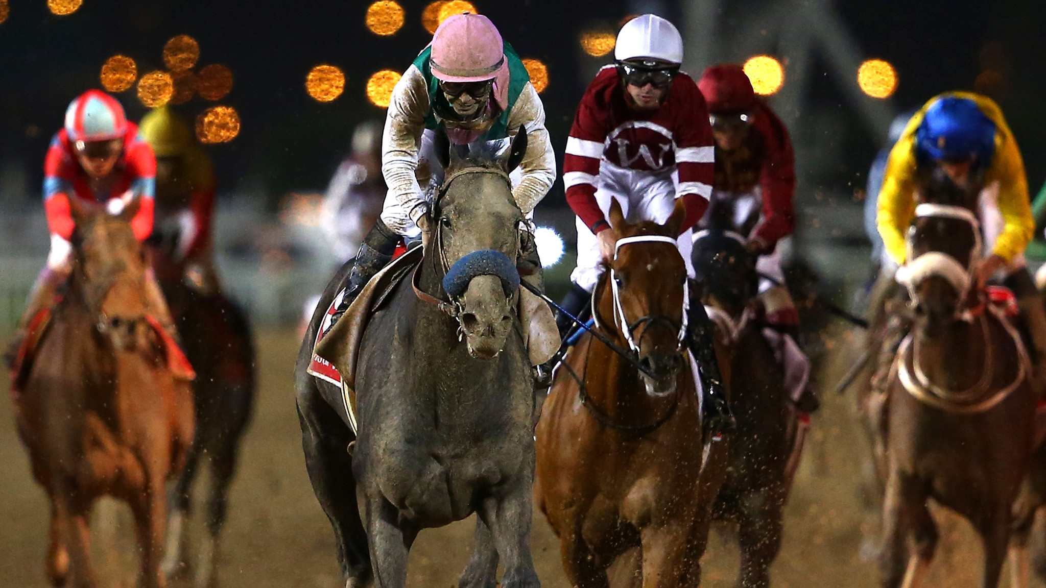 Arrogate pockets $6 million with remarkable win in the Dubai World Cup