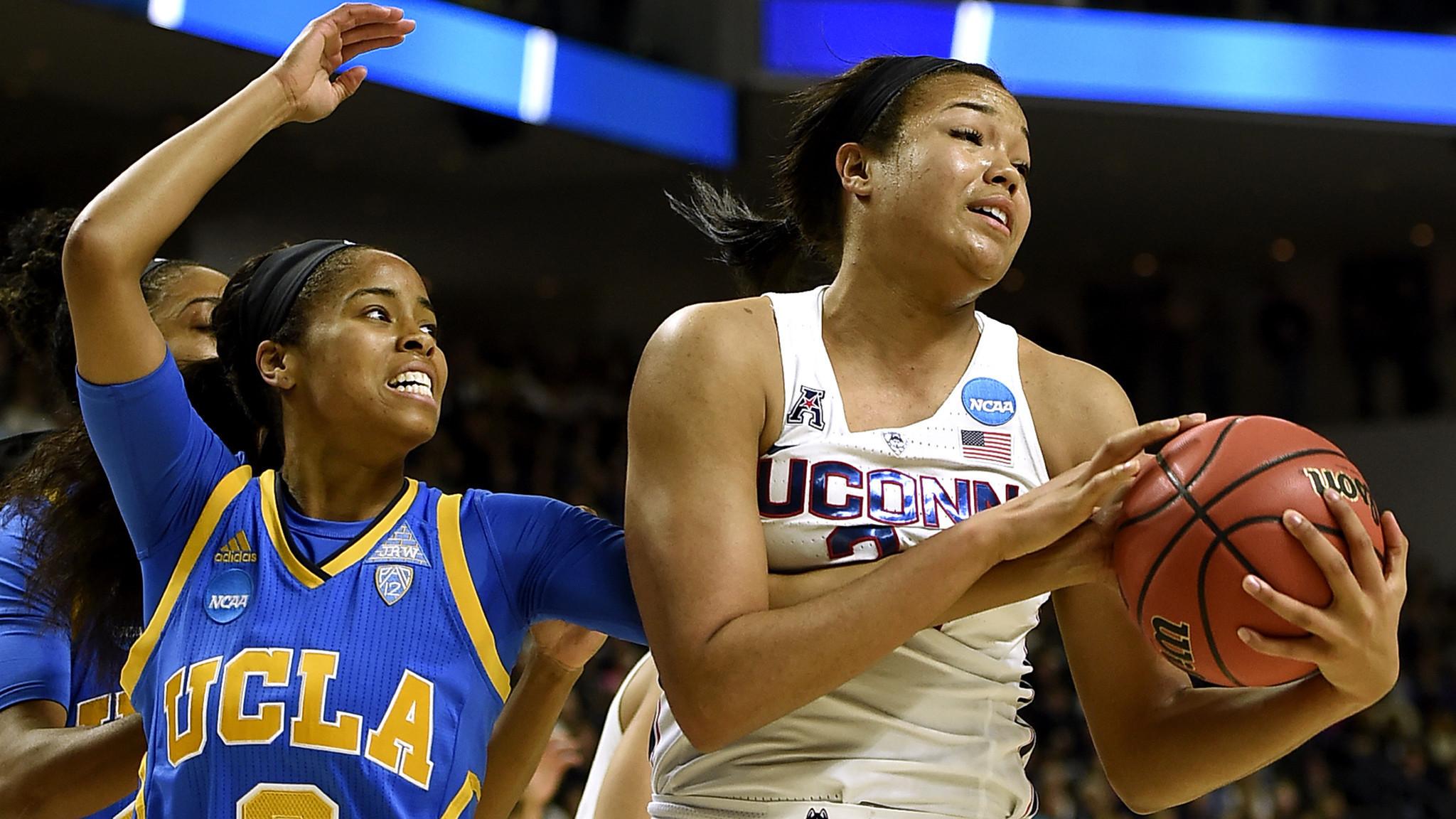 Connecticut women turn back UCLA, 86-71