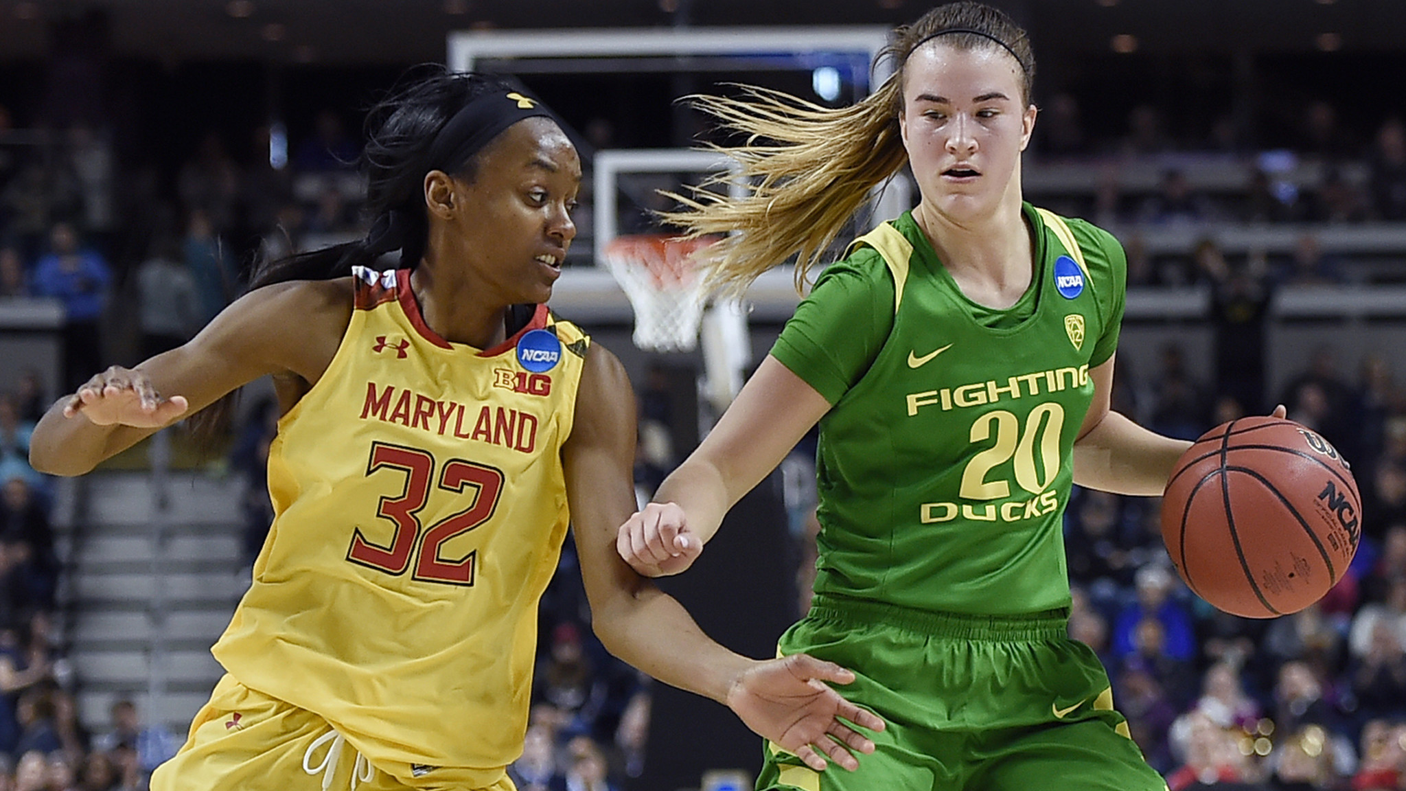 NCAA women's tournament: Oregon knocks off No. 3-seeded Maryland