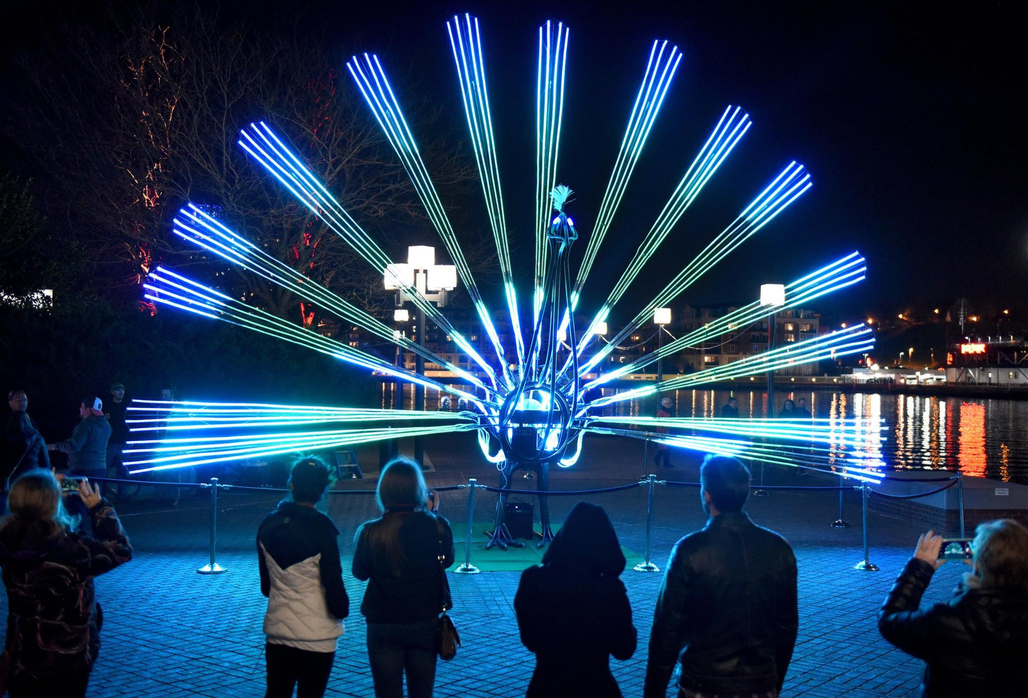 12 things not to miss at Light City Baltimore 2017 - Baltimore Sun:,Lighting