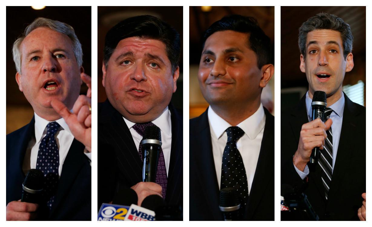 Democratic governor hopefuls unified on Rauner attacks ...