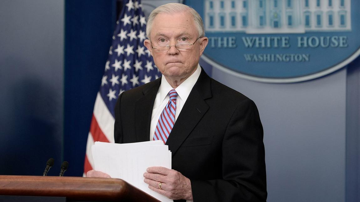 U.S. Atty. Gen. Jeff Sessions (Mark Wilson / Getty Images)