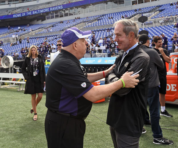 Ravens president Dick Cass discusses the state of the team