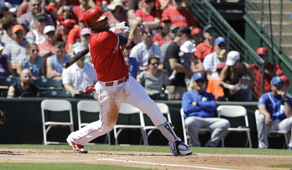 Angels hitters break loose in 14-3 Cactus League win over Oakland Athletics