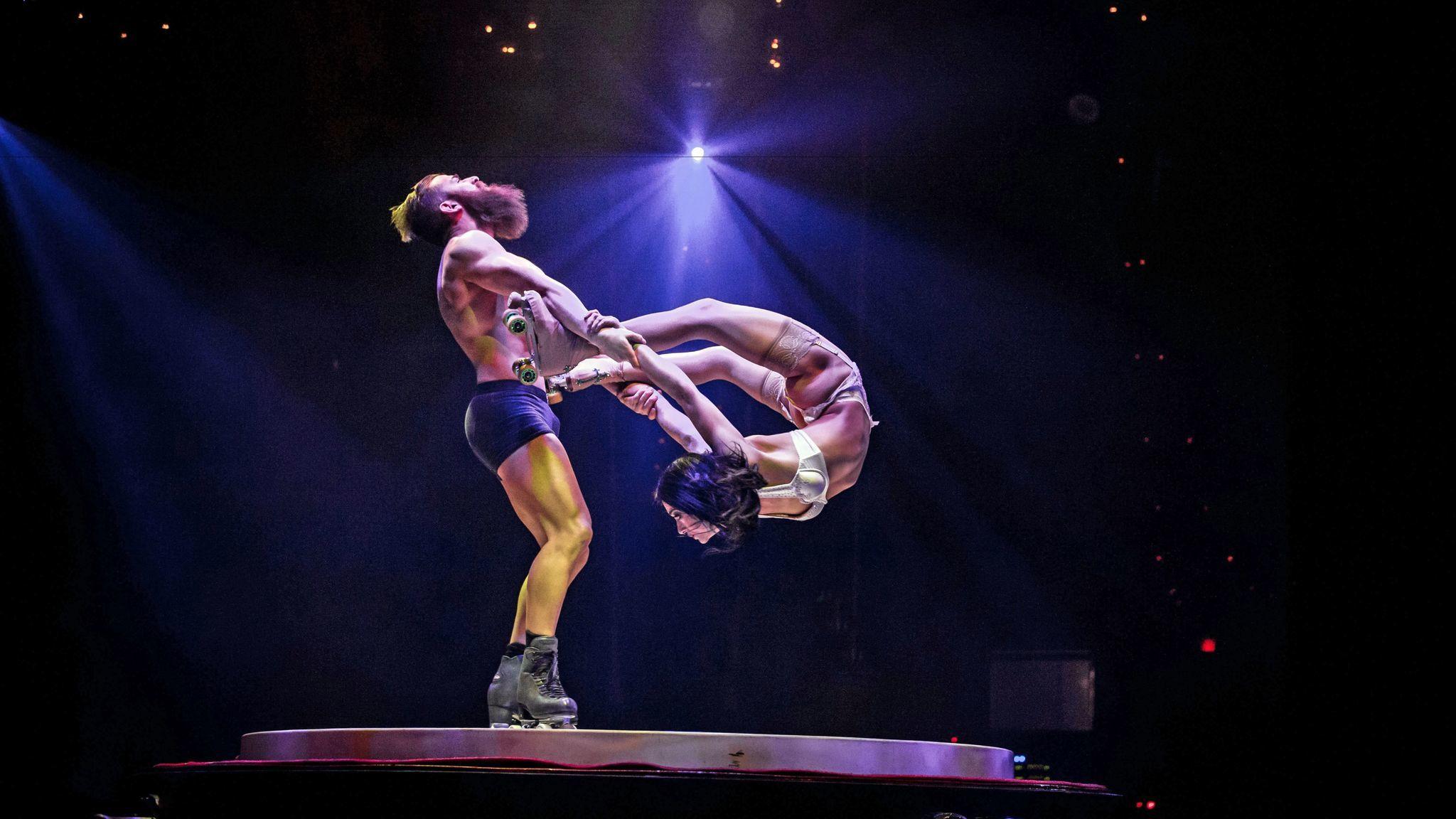 Acrobatics, stripping and skating.