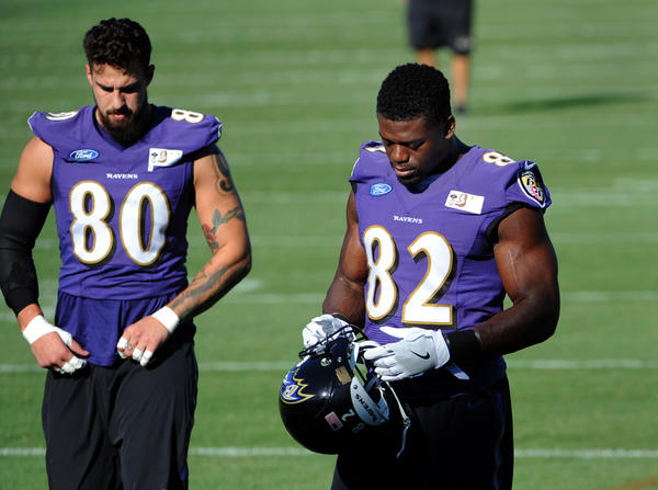 John Harbaugh excited to see how Ravens' competition at tight end plays out