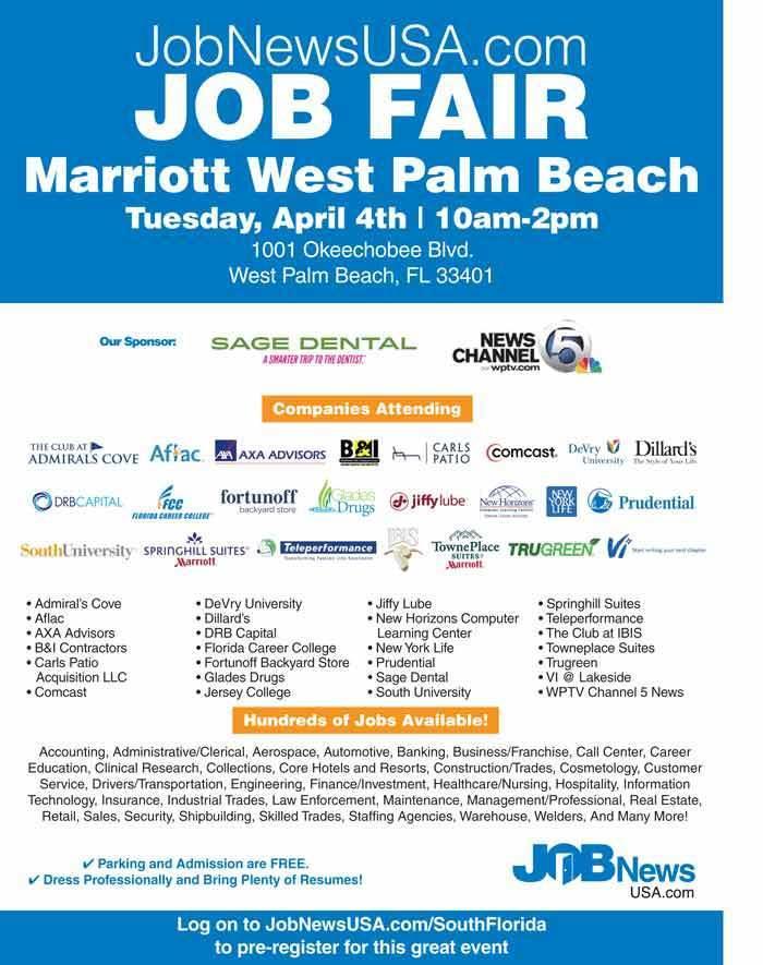 Job Fair To Draw Employers Hundreds Of Job Sun Sentinel With Carls Patio Palm  Beach Gardens.