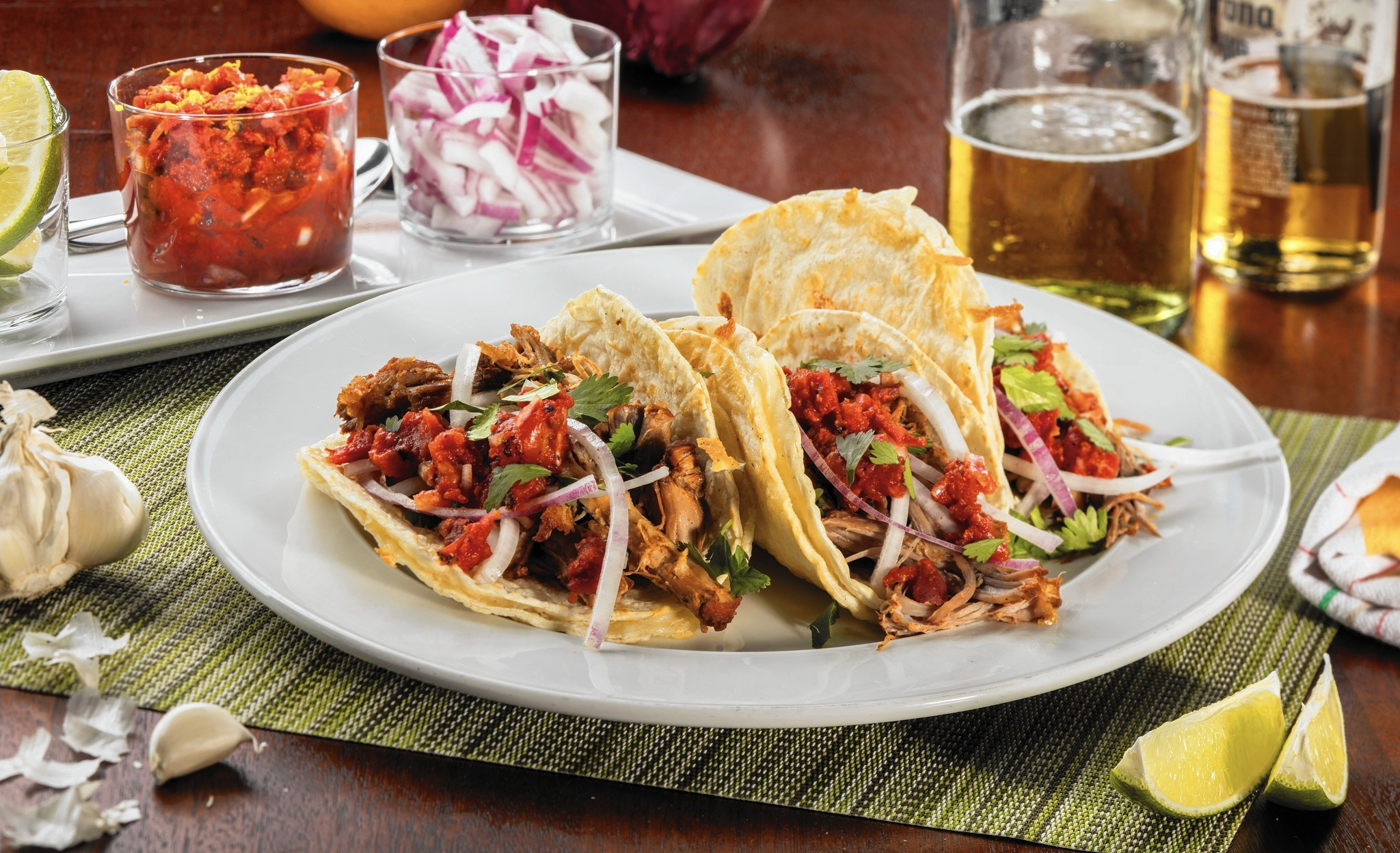 Tacos for a crowd? You'll want this red chile-braised pork shoulder