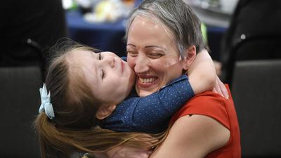John Archer's Amy Mangold is Harford Teacher of the Year for 2017