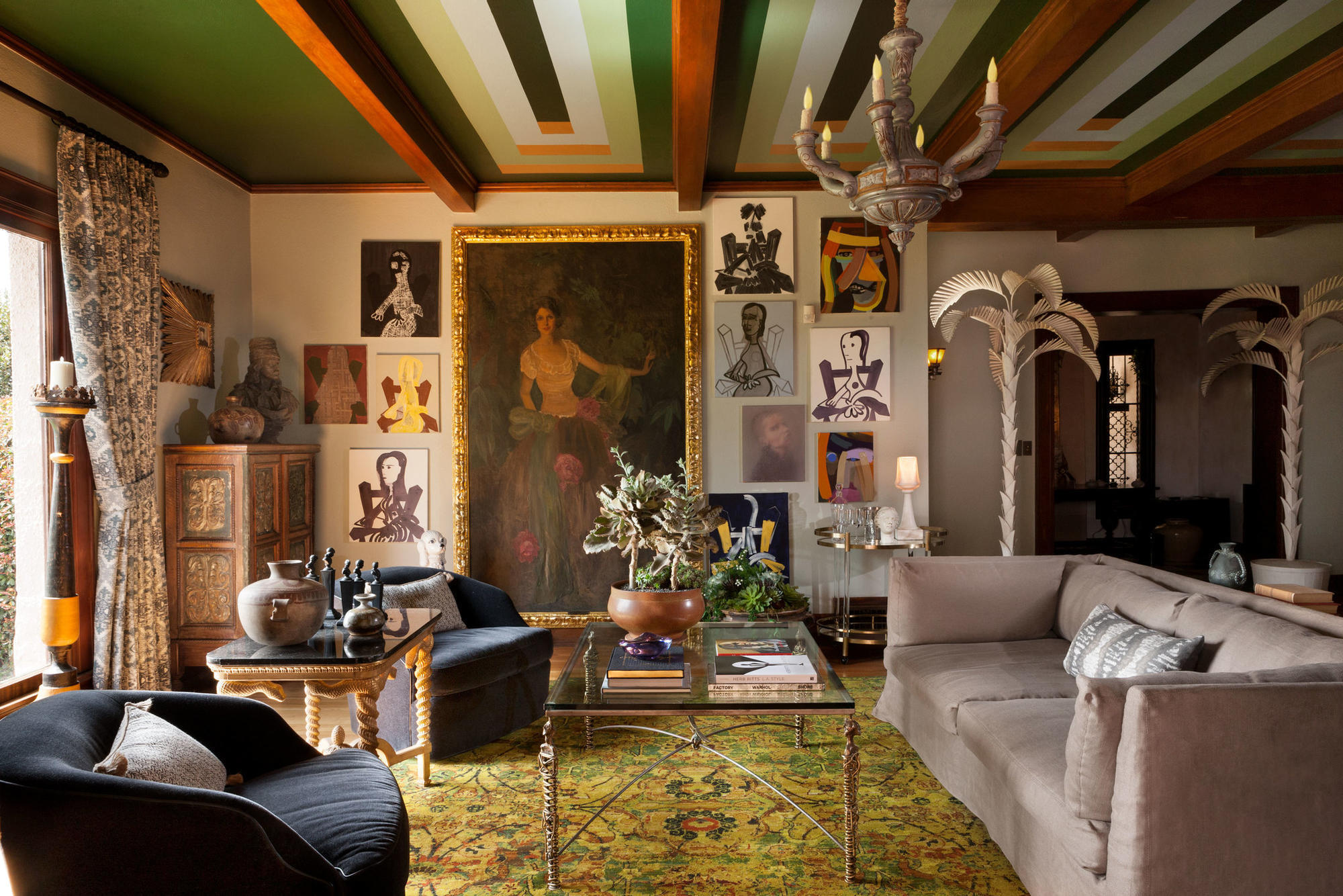 See how L.A. interior designers transformed this classic Hollywood mansion  - LA Times