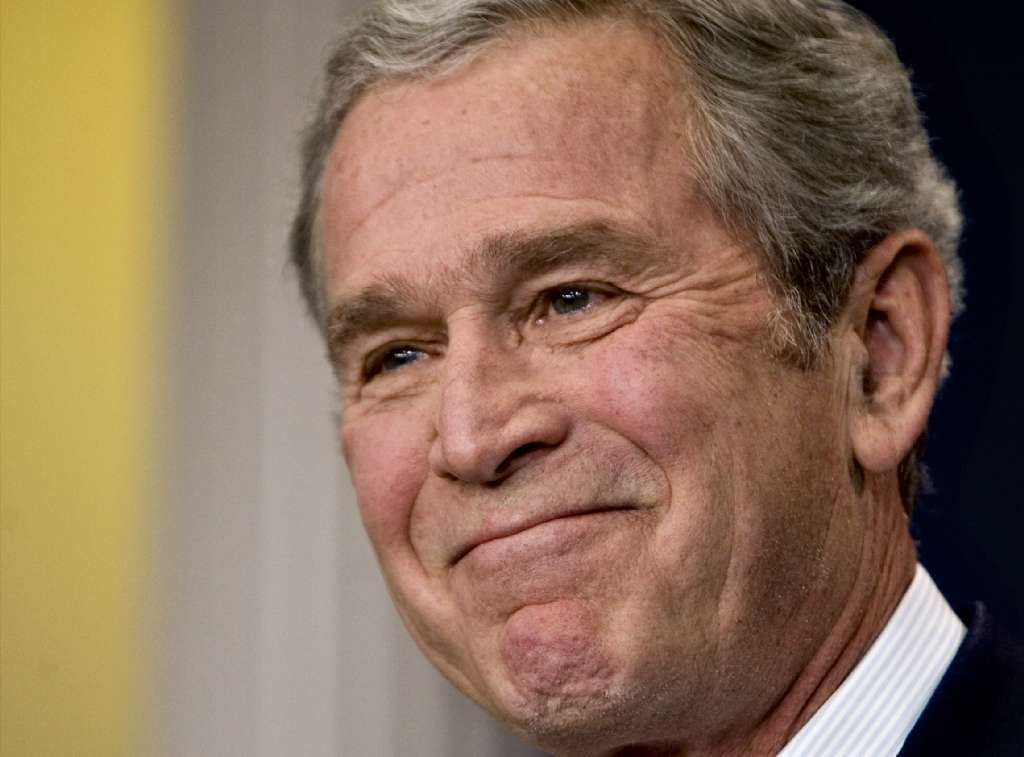 Wait. George W. Bush reportedly said what about Trump's inauguration?