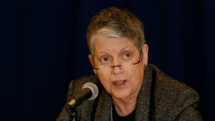 UC President Janet Napolitano (Allen J. Schaben / Los Angeles Times)