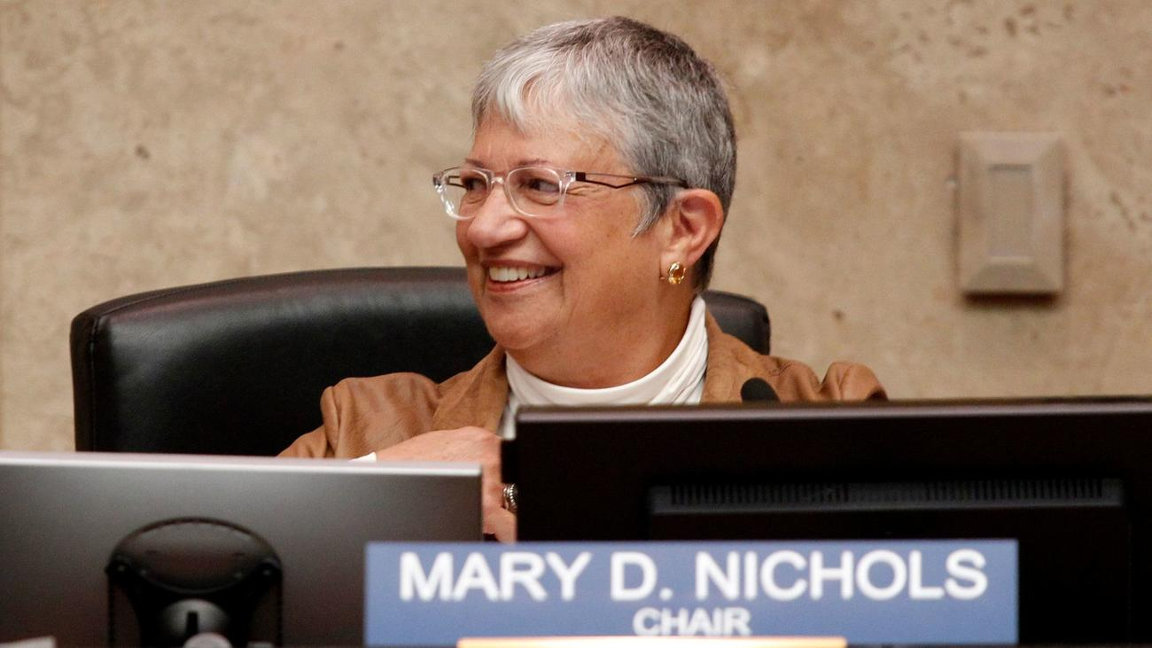 Mary Nichols, chairwoman of the Air Resources Board, oversees the cap-and-trade program. (Irfan Khan / Los Angeles Times)
