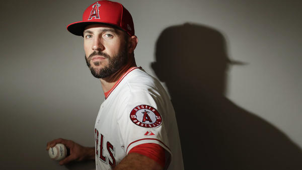 Blake Parker hopes to spend this season in the Angels