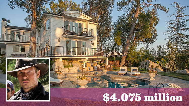 Nick Carter sold his Hidden Hills home with a matching chicken coop for $4.075 million.