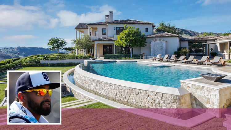 Atlanta Braves outfielder Matt Kemp will put his estate in Poway up for auction in April without a reserve. The roughly 4-acre property is listed for $11.5 million.