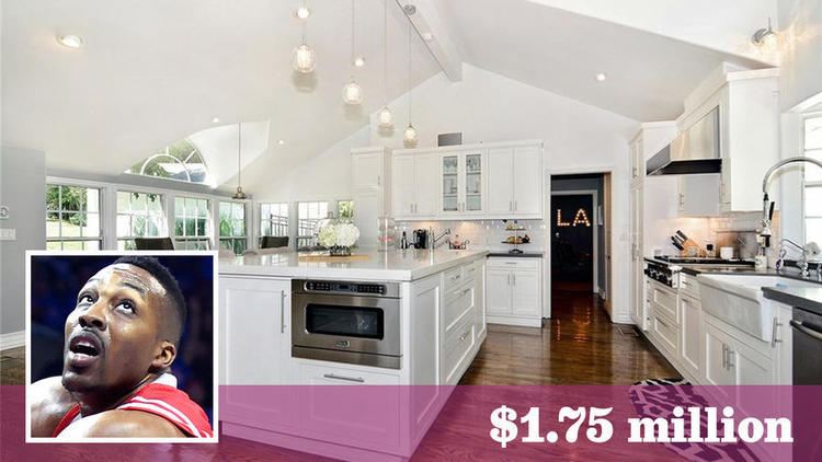 NBA star Dwight Howard has bought a home on more than a third of an acre in Tarzana for about $1.75 million.