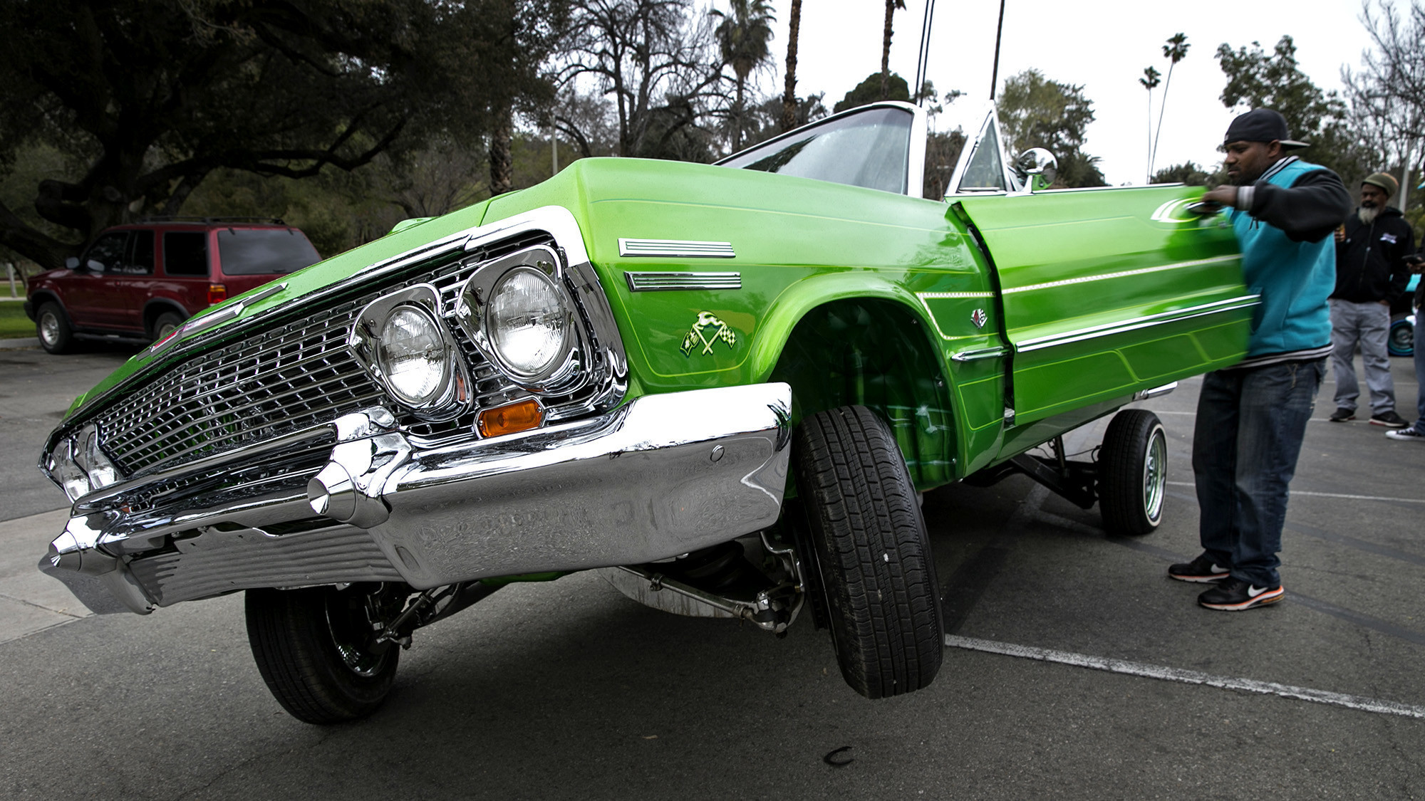 The art of lowriding born in l a 39 s eastside gets for Car painting school