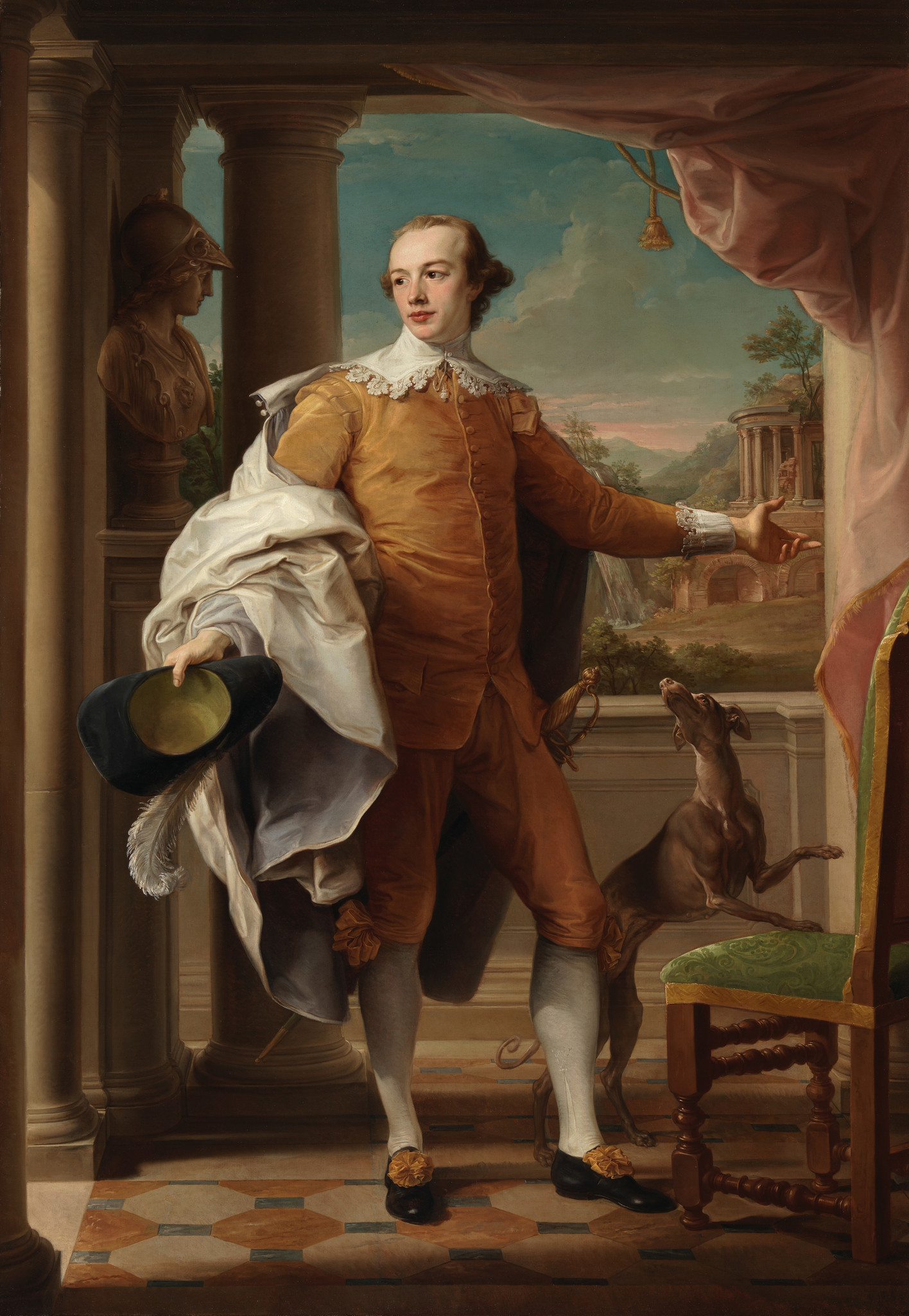 """Sir Wyndham Knatchbull-Wyndham"" by Pompeo Batoni"