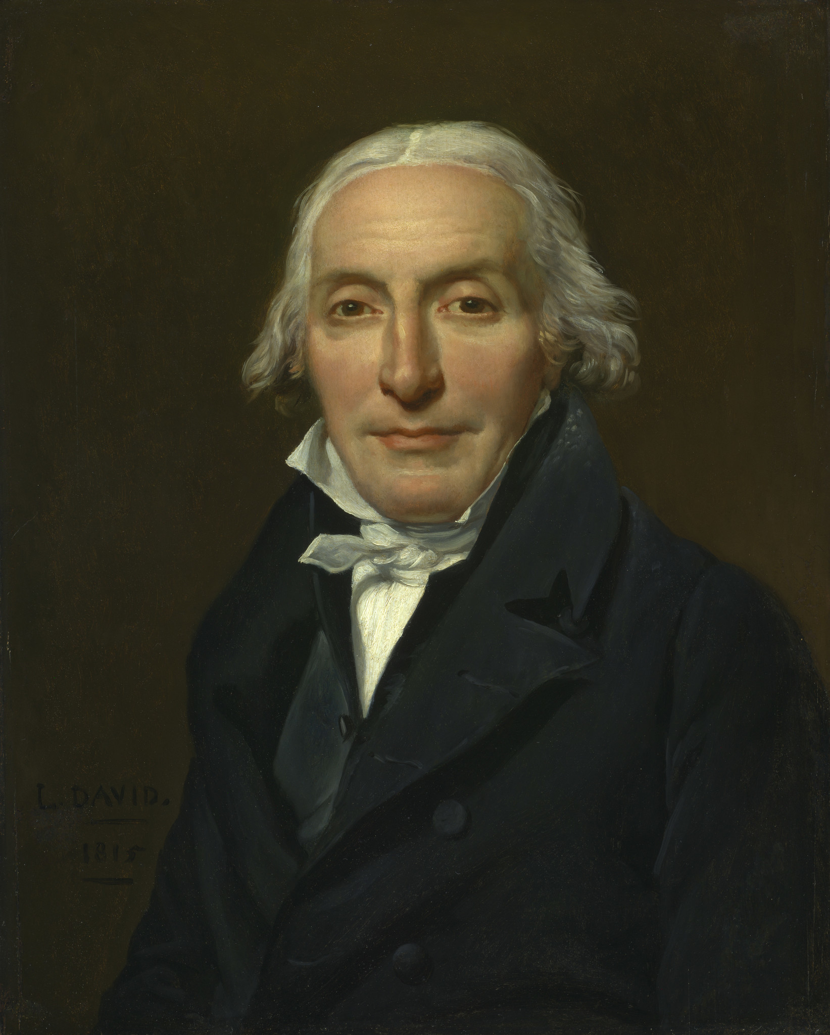 """Portrait of Jean-Pierre Delahaye"" by Jacques-Louis David"