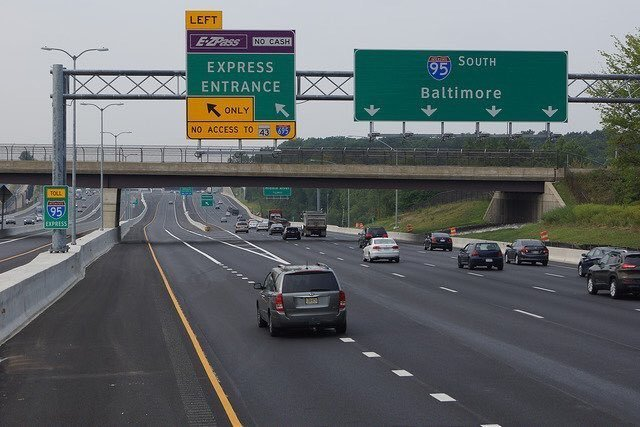 I-95 express toll lanes in Baltimore to close for highway ...