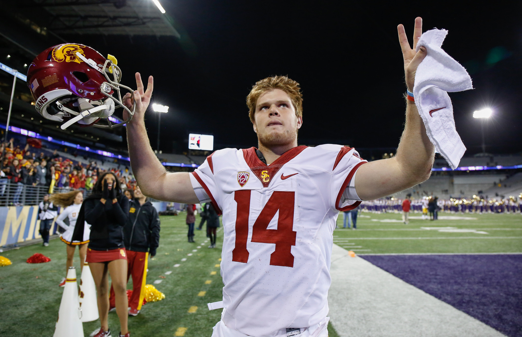 sam darnold rose bowl jersey