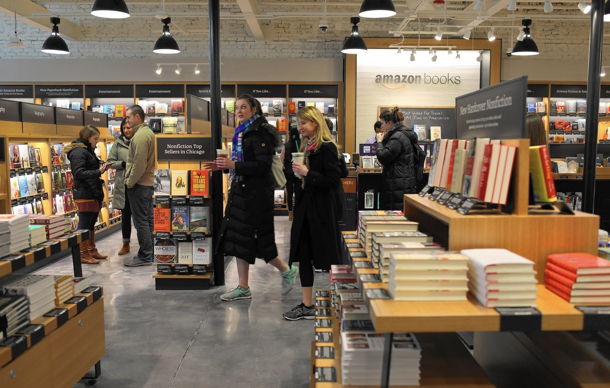 Amazon Takes A Page From Bricks And Mortar Bookstores