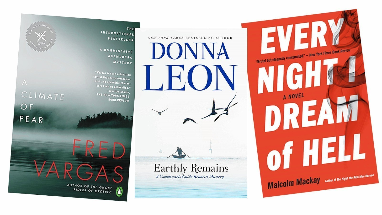 Earthly Remains By Donna Leon Leads This Weeks Crime Fiction Roundup