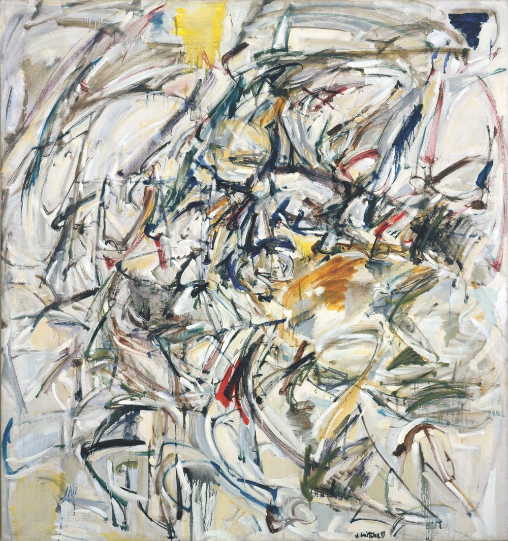 "Joan Mitchell, ""Untitled,"" oil on canvas"