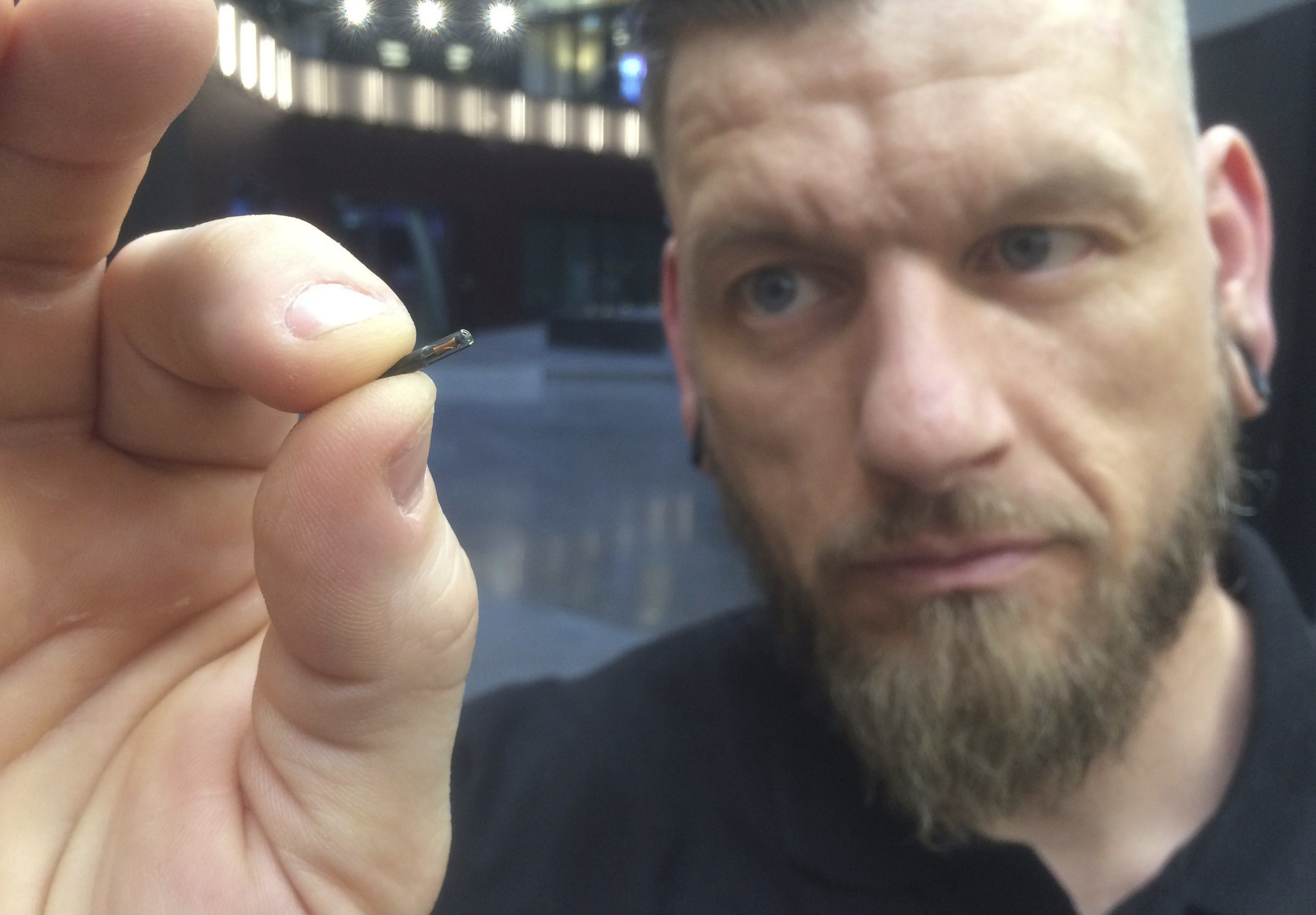 Companies Start Implanting Microchips Into Workers Bodies