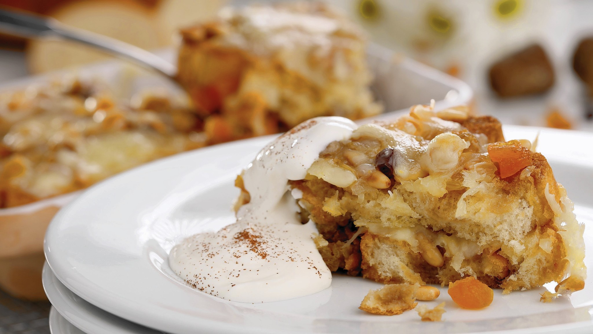 Mexican Easter bread pudding with a long culinary lineage