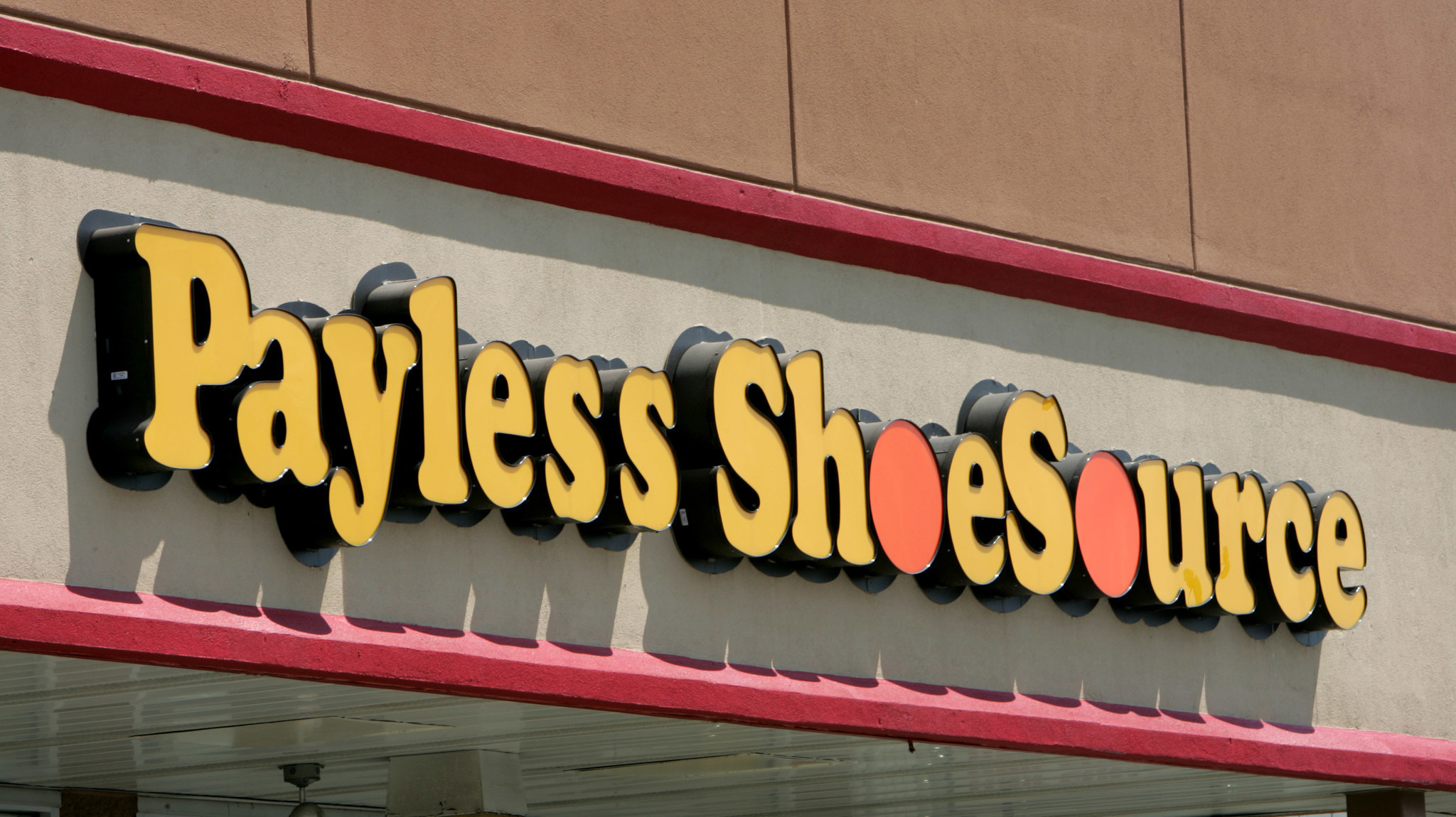 payless shoesource files for bankruptcy protection la times