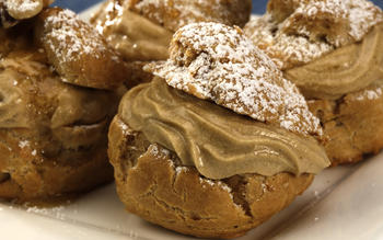 Passover coffee cream puffs