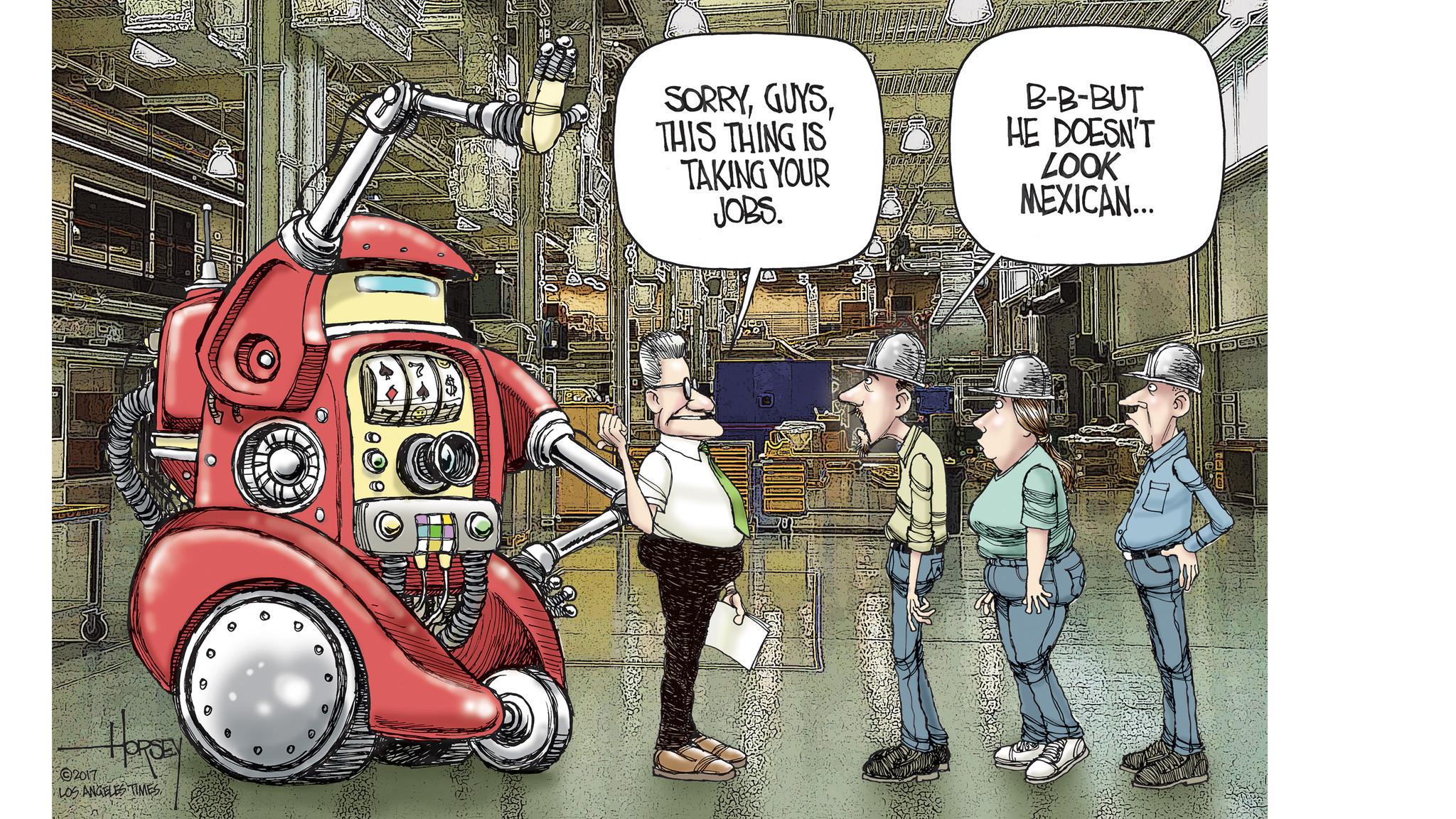 Resultado de imagen de robots steal jobs