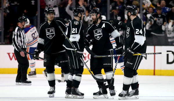 Disappointed In Early Elimination And Olympic News, Kings Still Storm Past Oilers