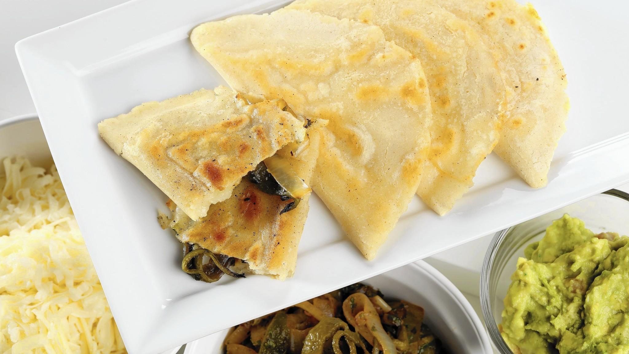 Fresh masa dough or pre-made tortilla, your quesadilla can be better