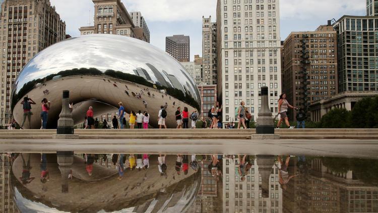 Millennium Park is new top Midwest visitor destination, high-tech count finds – Chicago Tribune