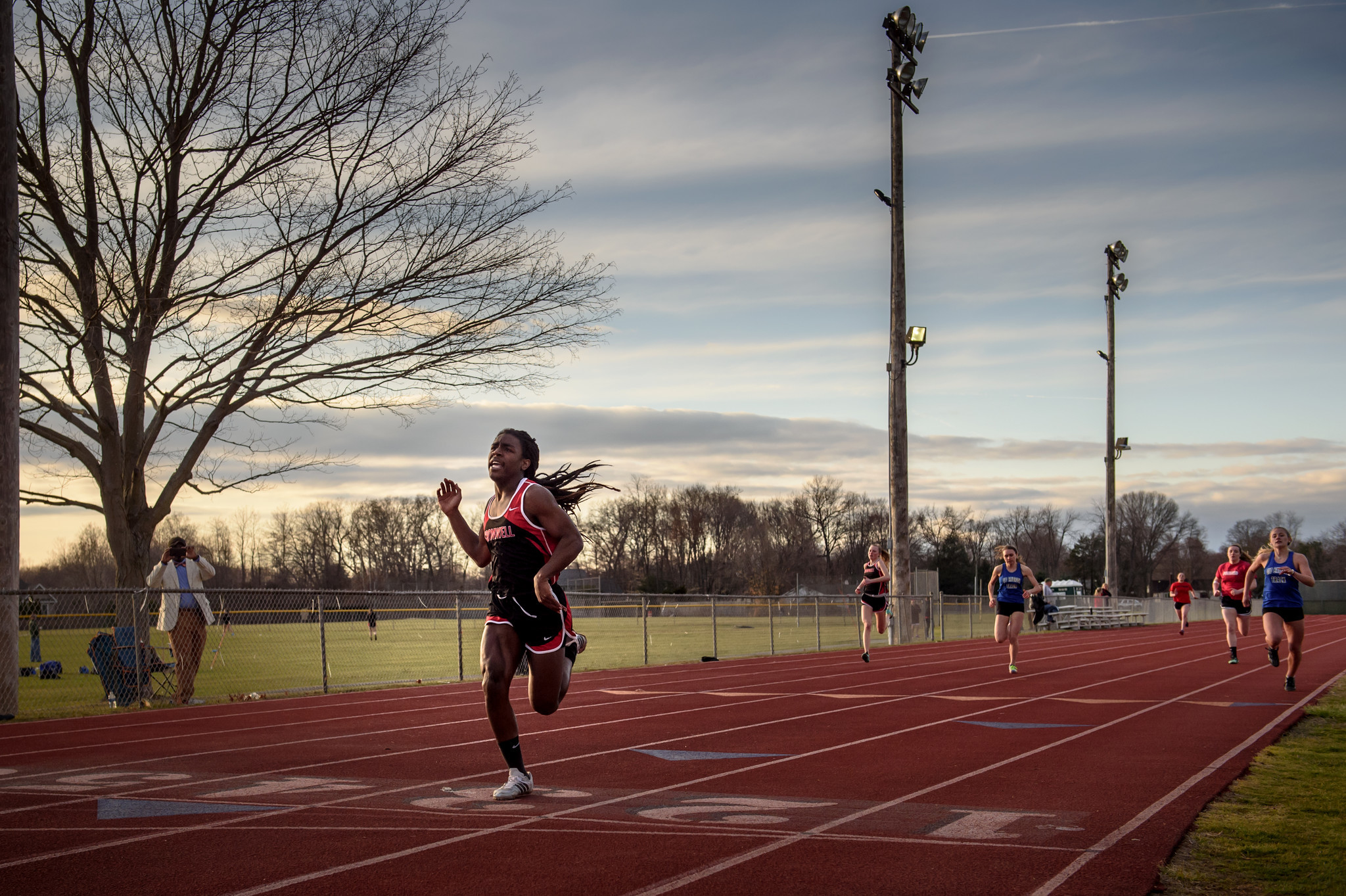 Andraya Yearwood is a transgender track athlete at Cromwell High School.