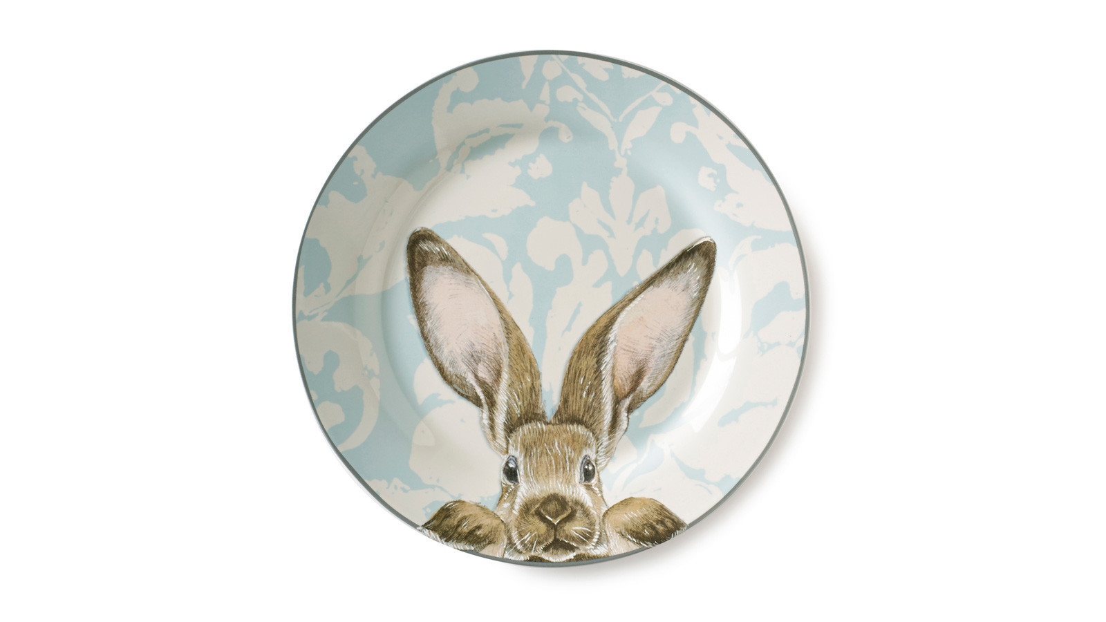 See how springtime bunnies are inspiring home decor the for Rabbit decorations home