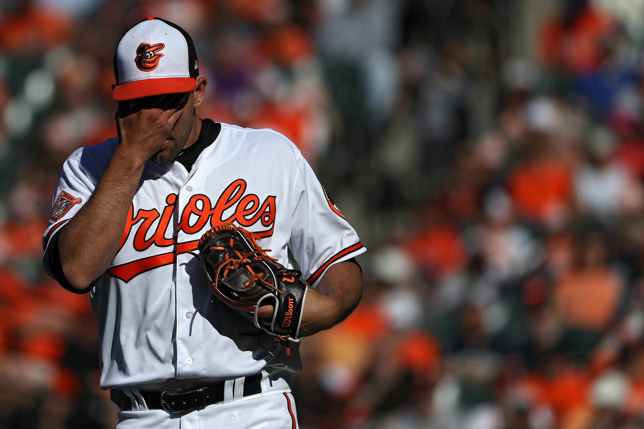 early struggles for darren o 39 day are a unique challenge for orioles to navigate baltimore sun. Black Bedroom Furniture Sets. Home Design Ideas