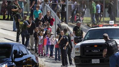 Boy, 8, and teacher slain in San Bernardino school shooting; gunman kills himself
