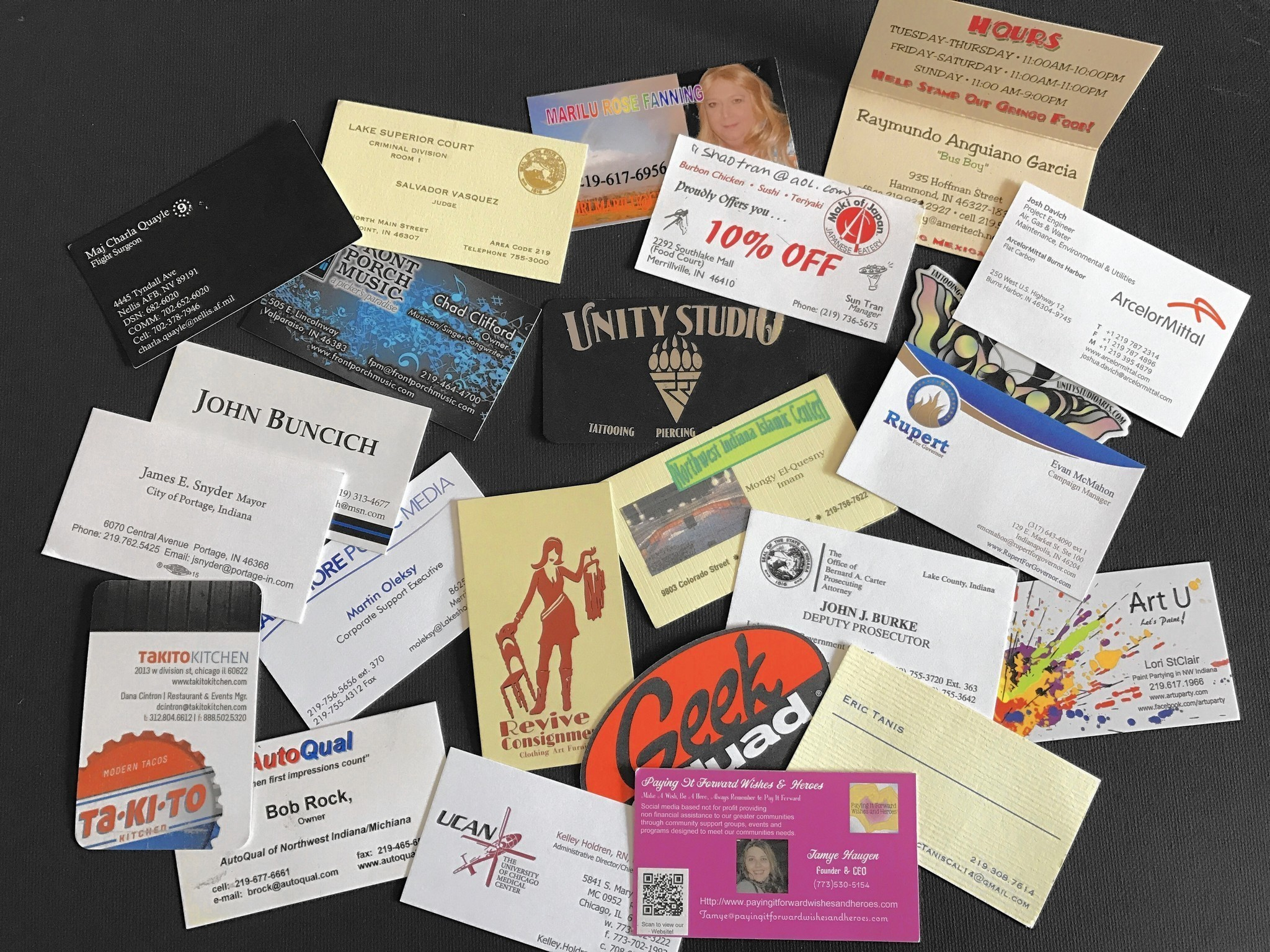 Business cards offer a peek at their owner for good or bad Post