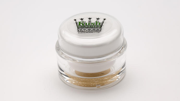 Aloe-Based Face and Eye Cream from Kush Creams.