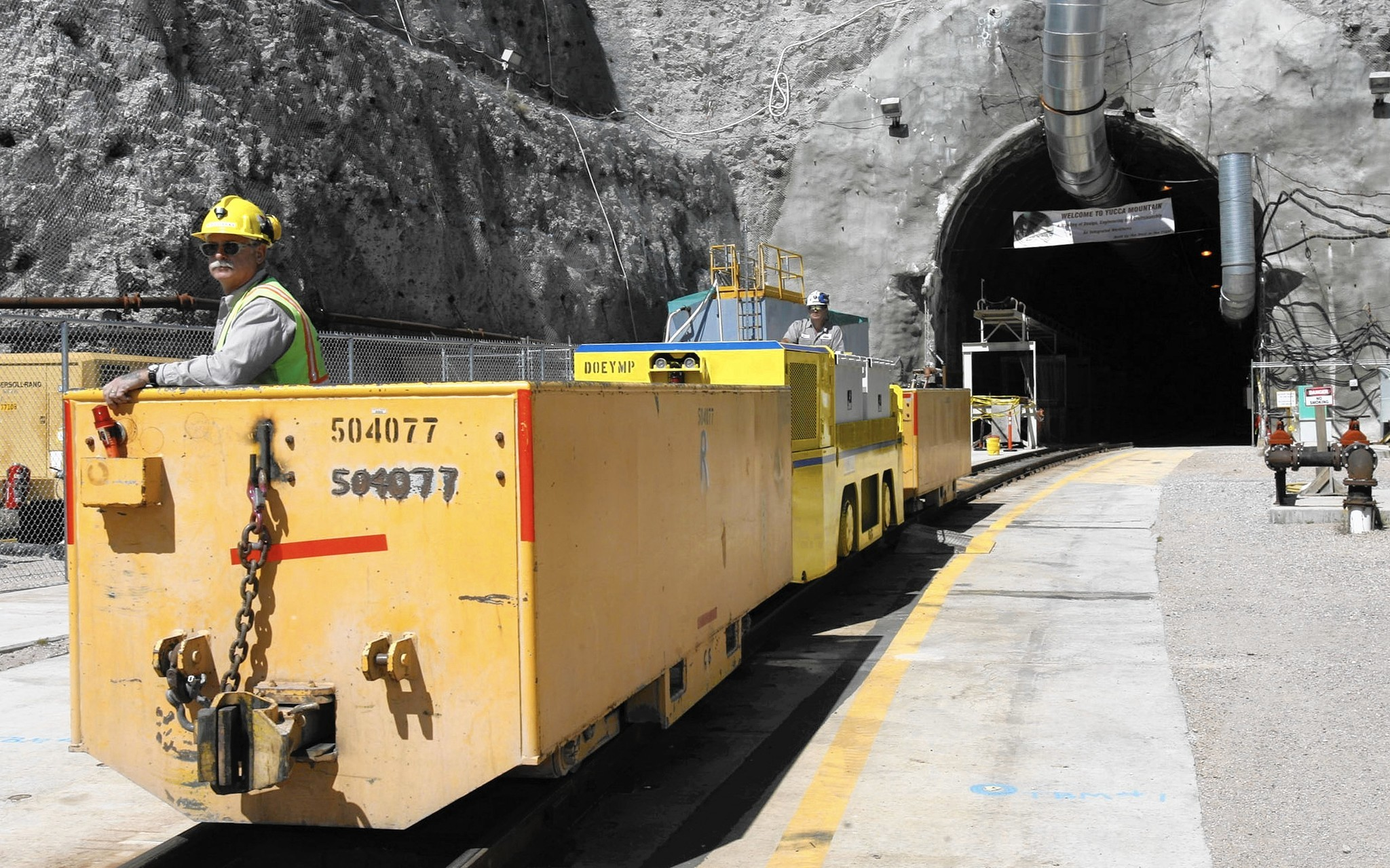 Revive Yucca Mountain Illinois Has More Nuclear Waste