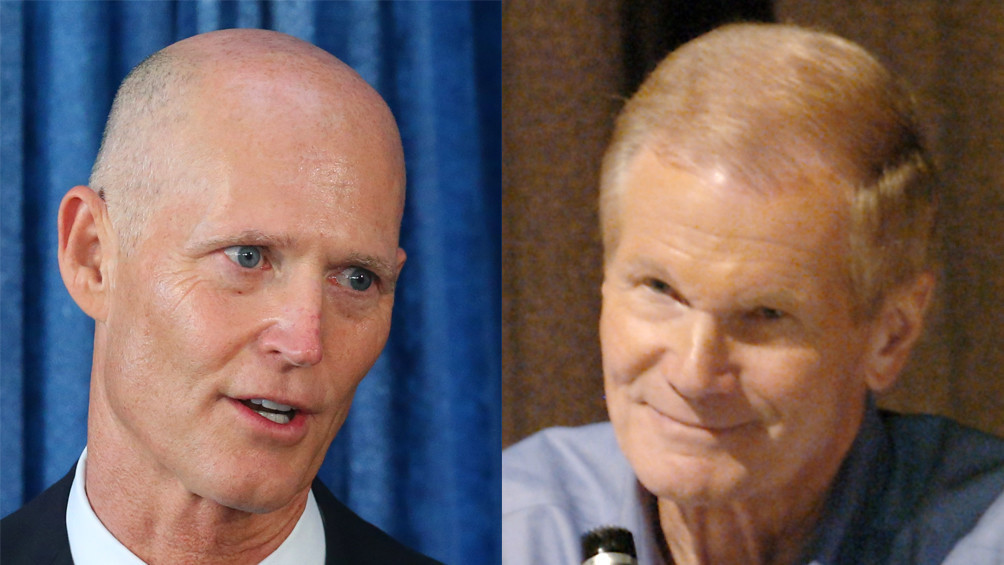 Image result for PHOTOS OF RICK SCOTT BILL NELSON