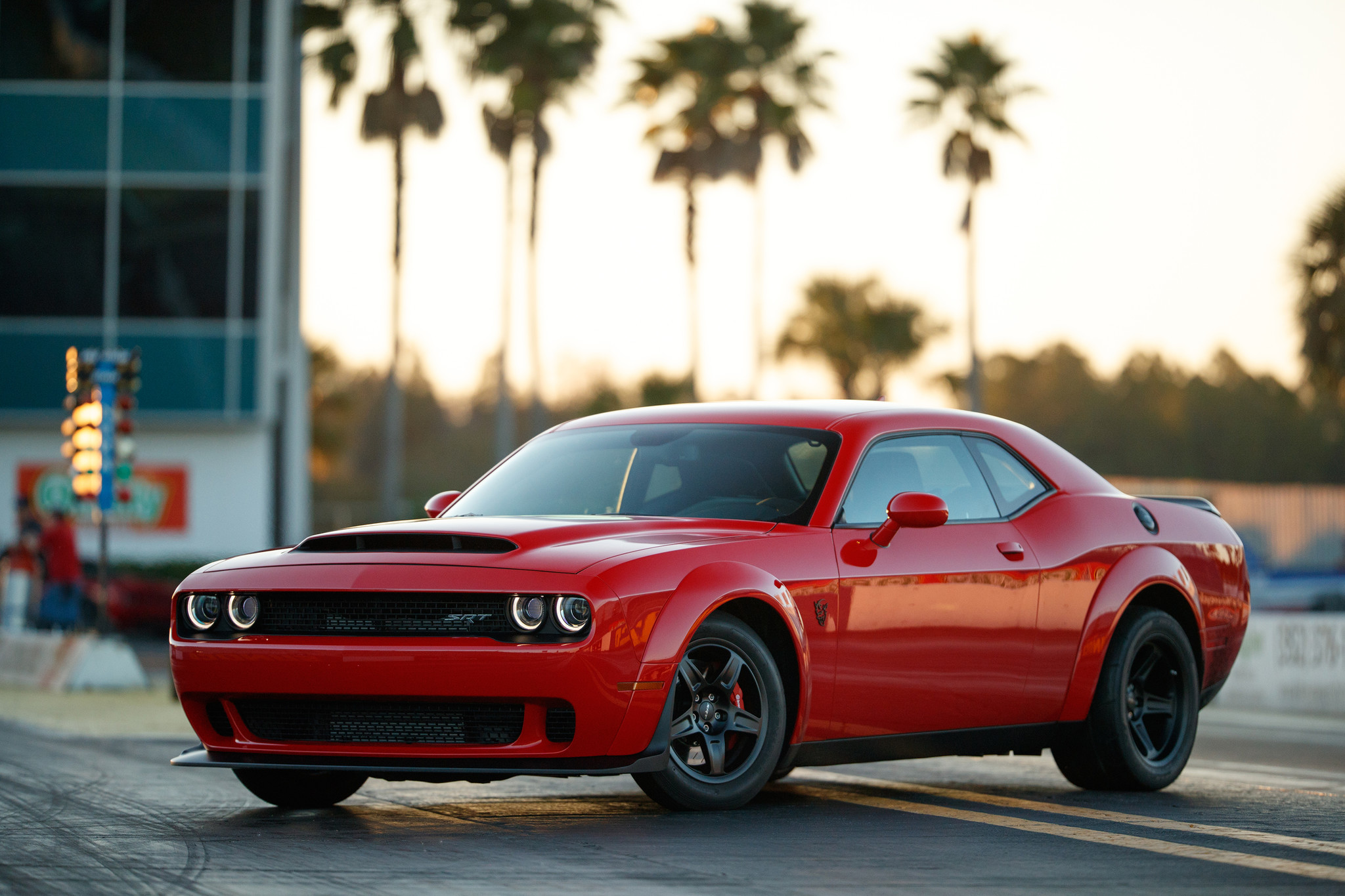 Dodge unveils 840-horsepower Demon, the fastest production car in ...
